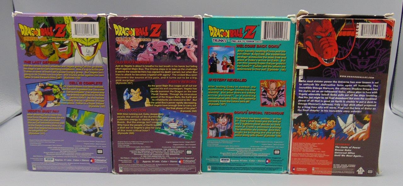 dragon ball z lot