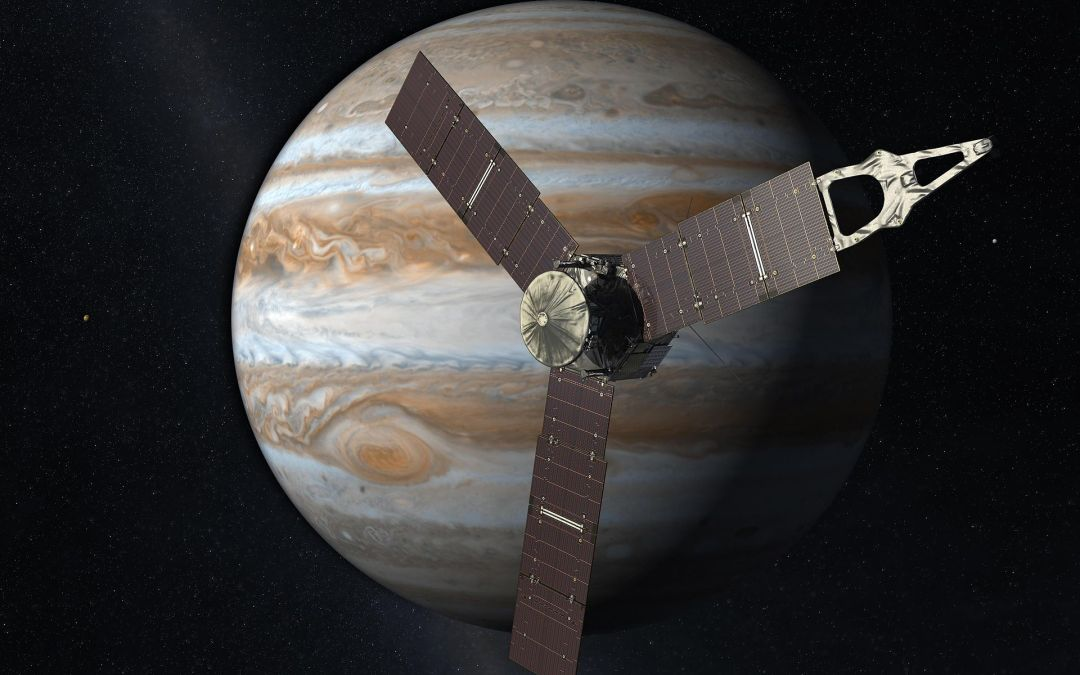 Today's 5 PM News: Interview w/ Scott Bolton, NASA Juno's Principal Investigator