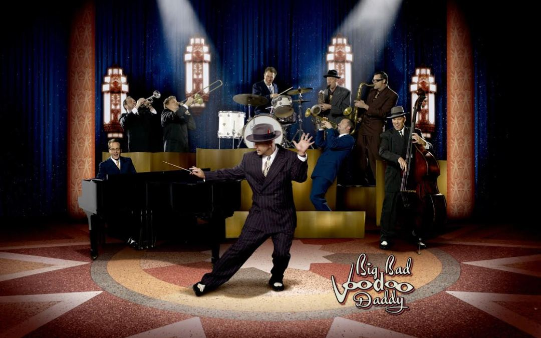 A Live Interview with SCOTTY MORRIS of Big Bad Voodoo Daddy & Swing-Music DJ CHUCK CECIL on Today's THE FREAK POWER TICKET!
