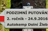 Podzimní putování 2016 - 2. ročník