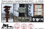 Turisté ze Šternberka uspořádali zimní sestup z Vysoké Roudné