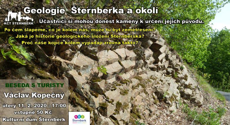 Geologie Šternberka a okolí - 11.2.2020