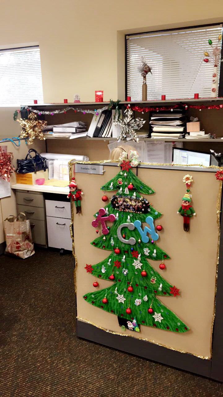 Holiday Cubicle Decorating Contest ...
