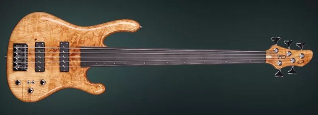 Fretless bass presented by Maryan Stanchev