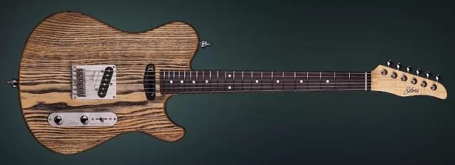 "Solid Body Guitar Model ""Silvia"" - Handmade by KD"