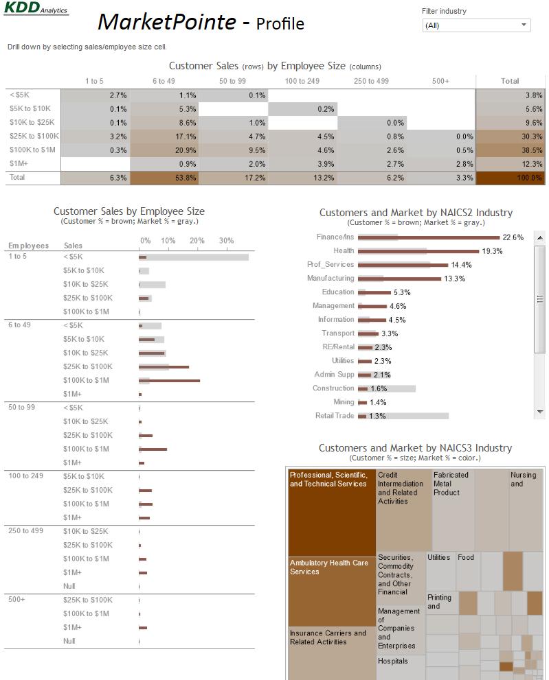 market segmentation - MarketPointe customer profile