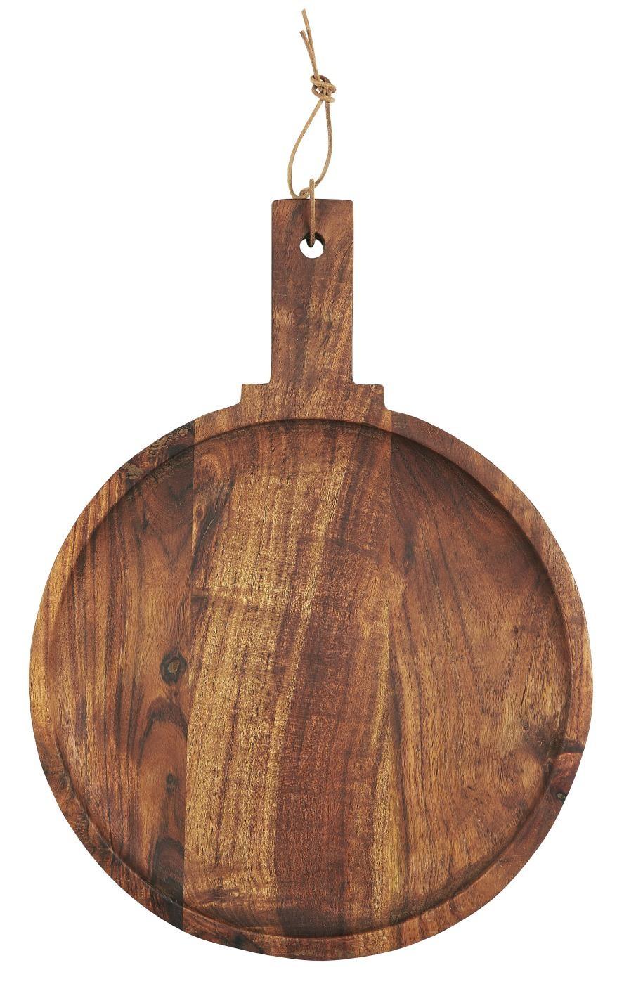 planche a tapas ronde bois fonce acacia ib laursen kdesign