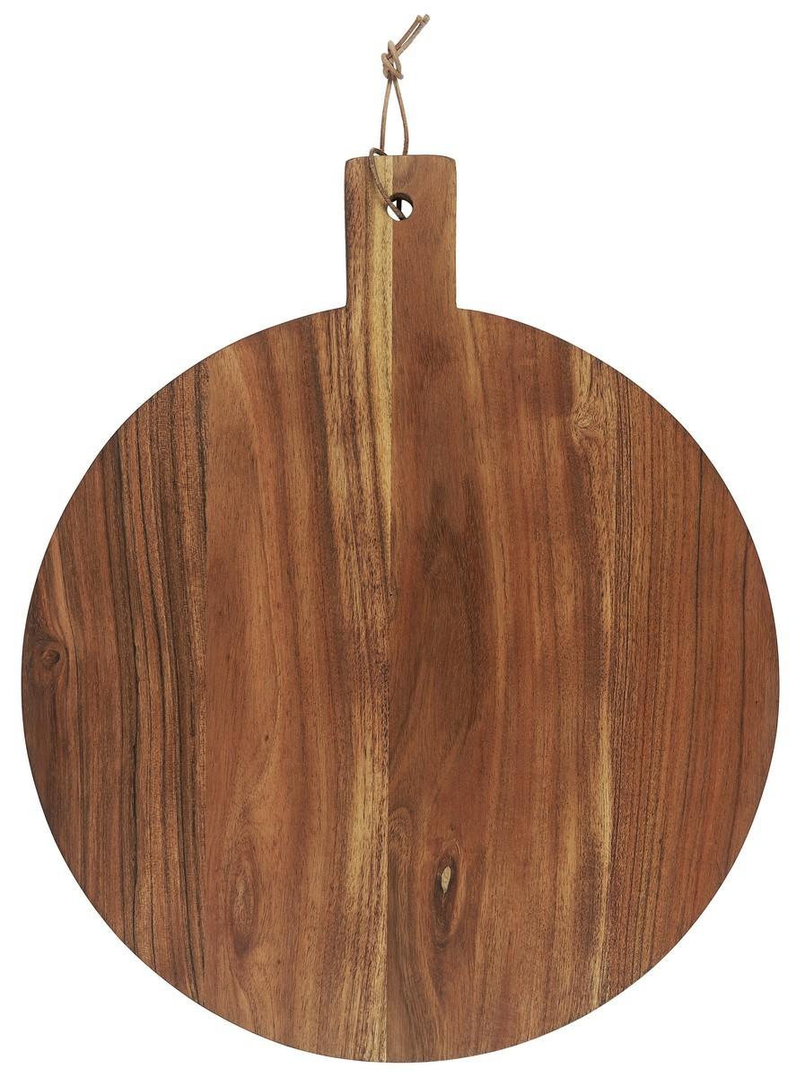 ib laursen planche a decouper ronde bois fonce acacia kdesign