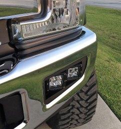 2017 ford super duty dual fog light brackets home lights light mounts wiring rigid industries bumper lightbar [ 1280 x 960 Pixel ]