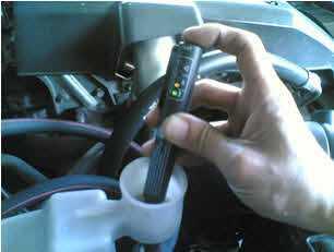 Testiranje UK ulja za kočnice ADD7702 testerom