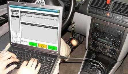 OBDII autodijagnostika pomoću PC računala.