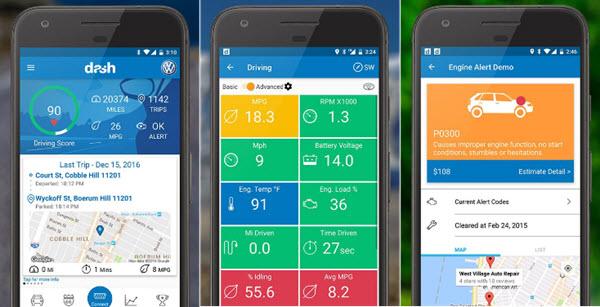 Dash OBD2 autodijagnostika za telefon