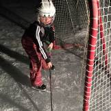 Why would you go to bed when you could play hockey?