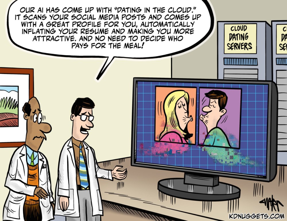 Cartoon: Cloud Dating