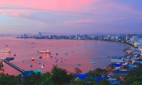 pattaya bay rent wifi thailand