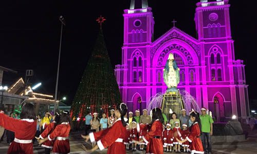Sweet Christmas at Chanthaburi