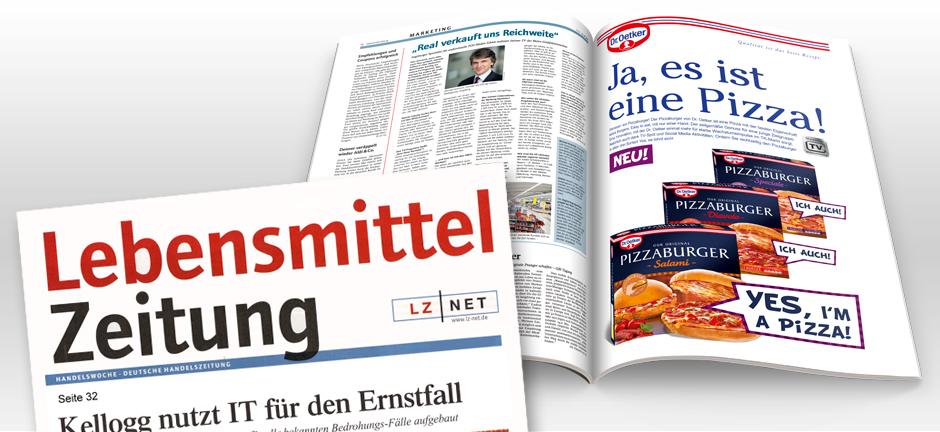 Yes Im a Pizza  Food von Herzen aus Bremen KDP Werbeagentur