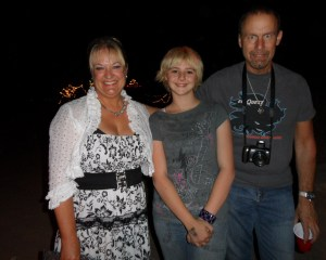 Wendy and Richard Pini with my daughter