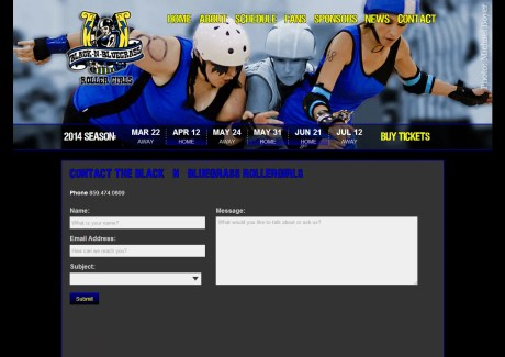BBRG Contact Page