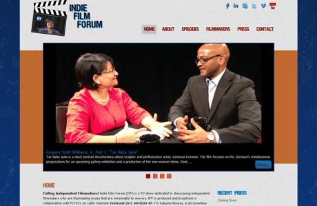 Indie Film Forum home page