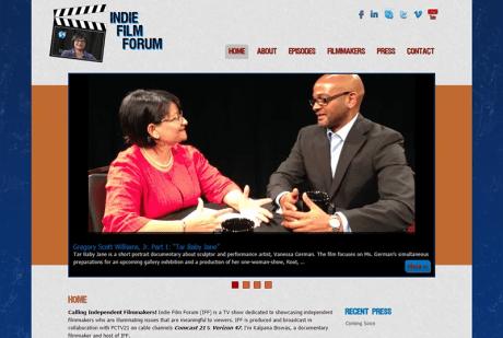 Indie Film Forum homepage