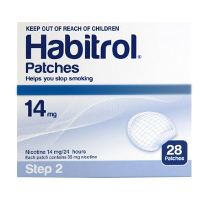 Habitrol Nicotine Patch Step 2 14mg 1 bulk box