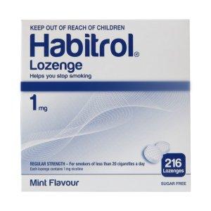 Habitrol Nicotine Lozenge 1mg Mint