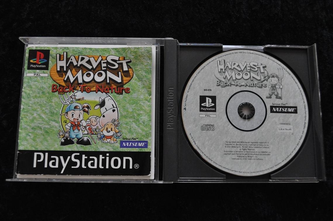 harvest moon playstation 1 cd