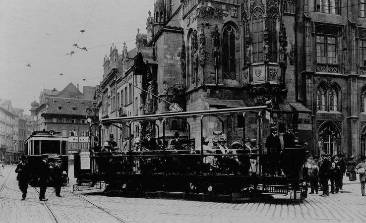 tram city oldschool photo