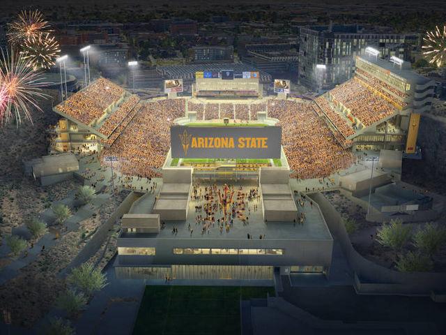 ASU Sun Devil Stadium Renovation  Kearney Electric Inc