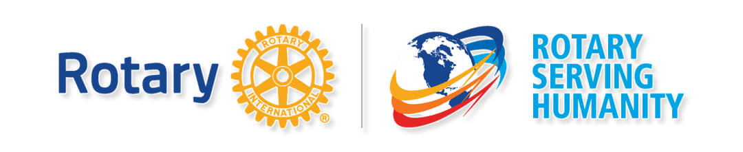 """Rotary 2016-2017 theme """"Rotary Serving Humanity"""""""