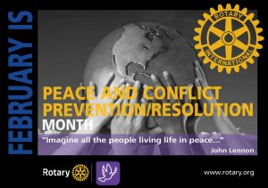 Peace and Conflict Prevention/Resolution Month