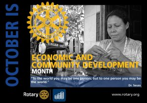 October is Economic and Community Development Month