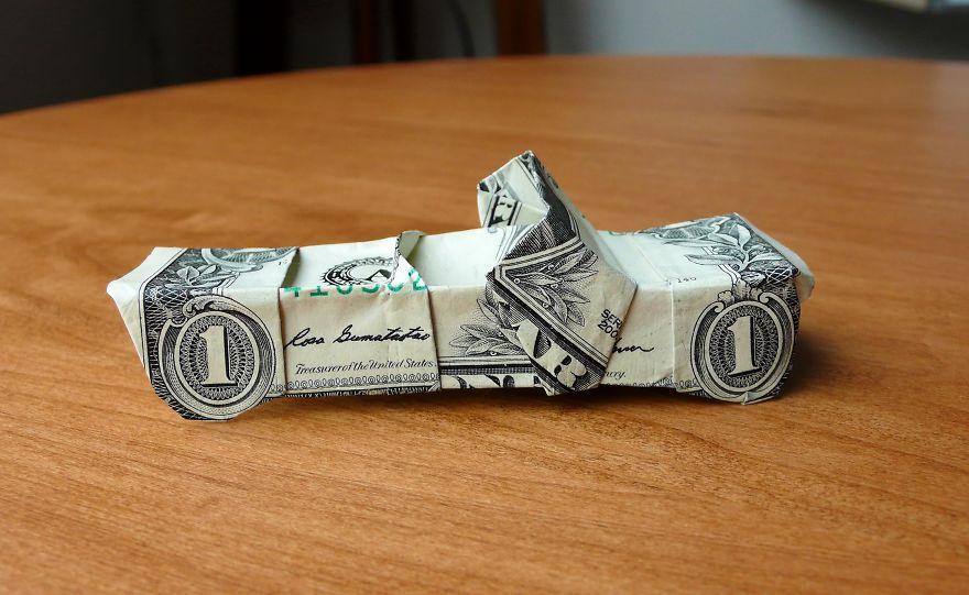 Origami creati con una banconota da un dollaro  Keblog