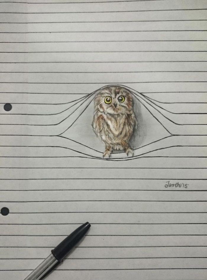 Graziosi disegni di animali che non vogliono stare tra le