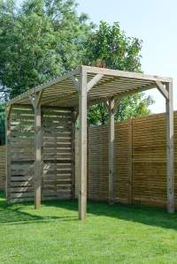 25 Simple Pergolas Uk Garden