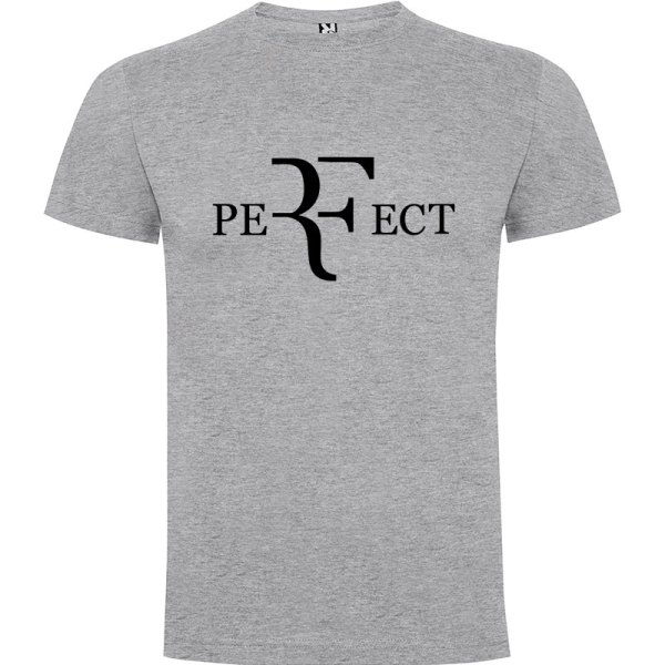 Camiseta para hombre perfect en color gris