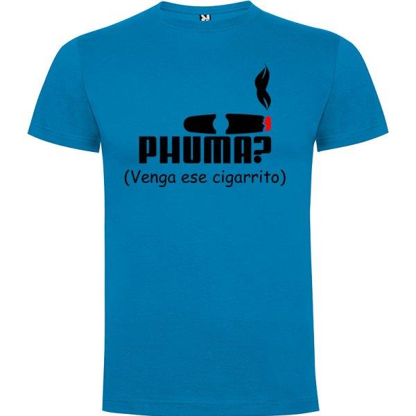 Camiseta para hombre PHUMA en color azul