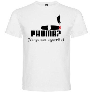 Camiseta para hombre PHUMA en color blanco