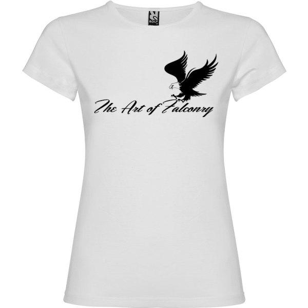 Camiseta para mujer The Art of Falconry Águila en color Blanco