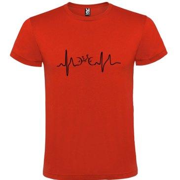 Camiseta para hombre Ciclismo Cardio n color Rojo