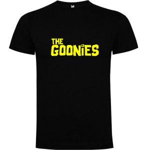 Camiseta para hombre The Goonies en negro