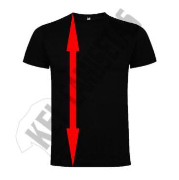 Altura camisetas