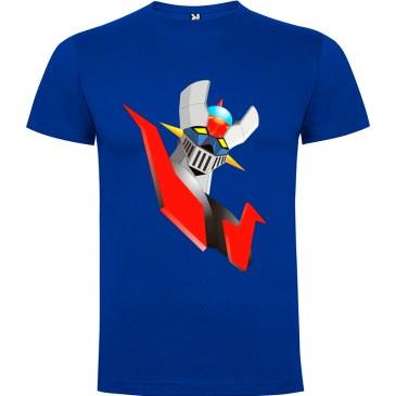 Camiseta para hombre Mazinger Z color Azul