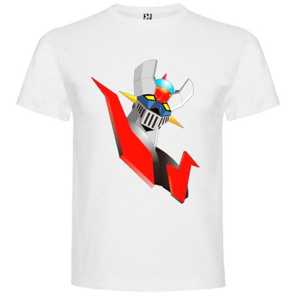 Camiseta para hombre Mazinger Z color Blanco
