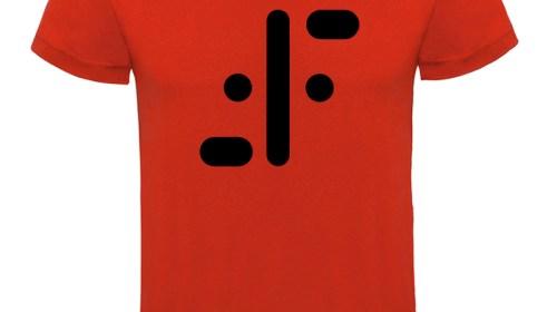 Rojo logo negro