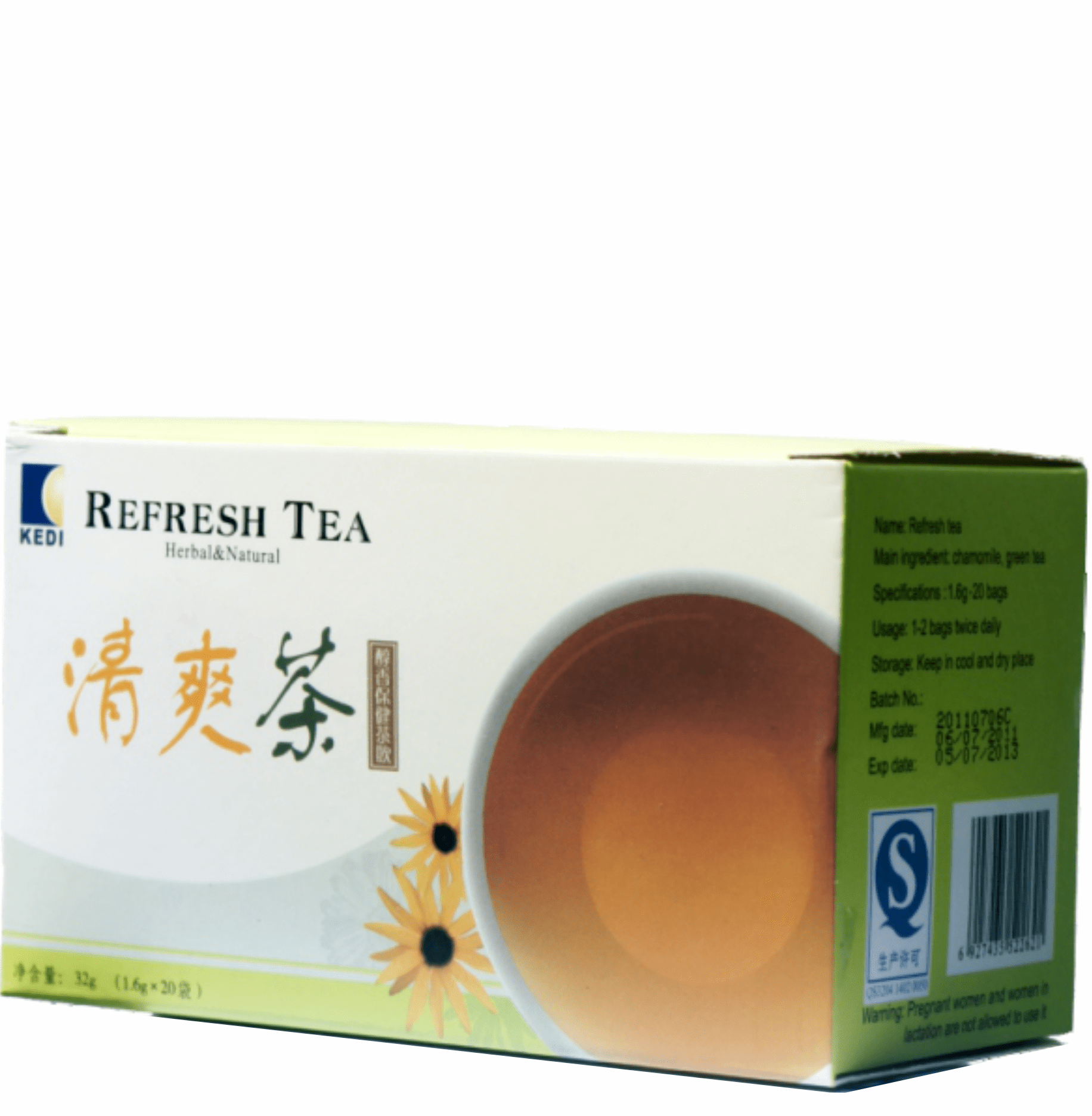 REFRESH TEA