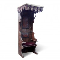 Medieval Prop Hire  Tall Medieval Throne Chair Queen ...