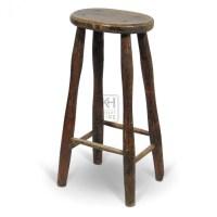 Bar Stools Extra Tall. Prop Hire Stools Tall Oval Wood Bar ...