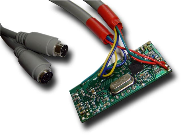 ps2 controller to usb wiring diagram slip ring induction motor hardware keylogger wireless do it yourself transmitter circuit board wired ps 2 bus